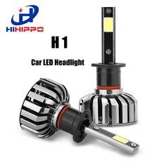35.66$  Buy here - http://alijed.shopchina.info/1/go.php?t=32815455743 - HIHIPPO H1 LED Bulbs Car Headlight 80W 8000LM COB Auto Front Bulb 6000K Automobile Headlamp Replace Halogen Xenon Car Light Bulb 35.66$ #magazine