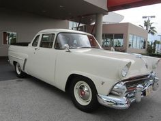 Learn more about 1955 Ford Mainline Utility Coupe on Bring a Trailer, the home of the best vintage and classic cars online. Best Classic Cars, Classic Cars Online, Classic Trucks, Travel Trailer Interior, Travel Trailer Camping, Camping Ideas, Camping Hacks, Cool Trucks, Cool Cars