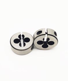 HSS Round Adjustable Die, Metric #ExternalThreadCutting #AdjustableDies #RoundDies #DieNuts Internal Thread, Cufflinks, Accessories, Wedding Cufflinks, Ornament