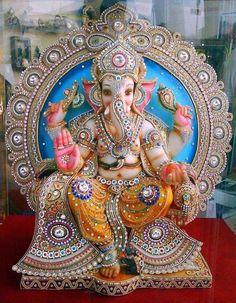 Pintura Ganesha, Arte Ganesha, Sri Ganesh, Ganesh Lord, Ganesha Tattoo, Ganesh Chaturthi Greetings, Happy Ganesh Chaturthi Images, Shri Ganesh Images, Ganesha Pictures