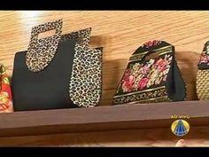 Carteira de Chita com Bambu | Sabor de Vida - 23 de Abril de 2012 - YouTube