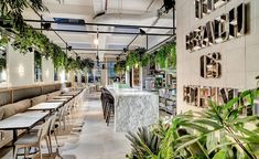 Michelin awarded chef Matt Gillan has opened his long-awaited debut restaurant inside of the Brighton institution Kemptown's Red Roaster coffee shop. Investing £1million into the site has allowed for a stylish revamp of the space by Australian interio... #coffeeshop