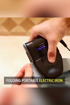 Folding Portable Iron - Travel Tips
