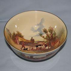 royal doulton | Royal Doulton Rustic England bowl D6297 (Farmer waving stick) - Royal ...