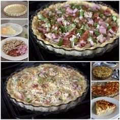 Quick & EZ Meat Lovers Quiche ~ it's pretty, it's hearty, and it's delicious. I increased the cooking time to 40 mins, otherwise, recipe was perfect as is.