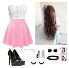 """""""Meet Ariana Grande"""" by vfprodriguez ❤ liked on Polyvore"""