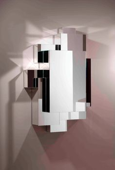 FREEZING MIRROR BY HERVE VAN DER STRAETEN | Edition of only 20 mirrors with geometric forms. | http://bocadolobo.com/blog/ #limitededition