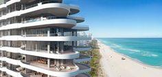 Faena Versailles Contemporary Residences Miami Beach Revealed By Brosda & Bentley. Luxury Condo, Luxury Life, Miami Art Deco, Classic House Design, Dream Mansion, Miami Houses, Ocean House, Dream House Exterior, Condos For Sale