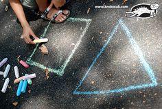 Fun game for small kids - learn the geometric figures
