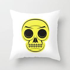 Teschio Throw Pillow by Matteo Lotti - $20.00