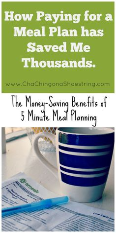 Meal Planning that will save you money!