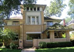 Rollin Furbeck House, 1897-1898, early design by Frank Lloyd Wright