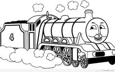 Timykids Thomas The Train Coloring Pages To Print