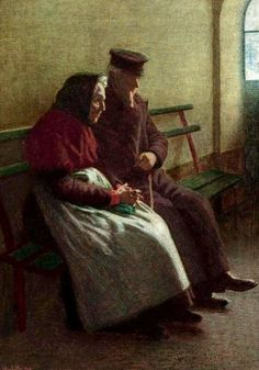 Angelo Morbelli 1908 Time Gone By