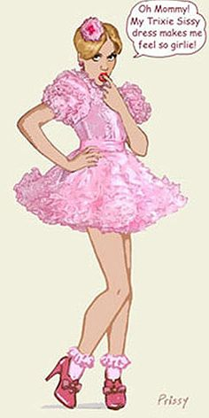 Trixie Sissy Dress