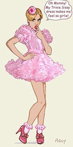 Trixie Sissy Dress