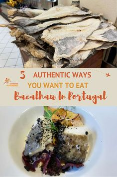 The Portuguese are obsessed with Bacalhau. This traditional food is one of Portugals most treasured dishes. It is eaten baked barbecued canned with potatoes with rice and so many other ways. There are over 365 ways of preparing bacalhau and some sa Portuguese Recipes, Portuguese Food, Food Stamps, Foodie Travel, So Little Time, Street Food, The Best, Authentic Food, Dinner Recipes