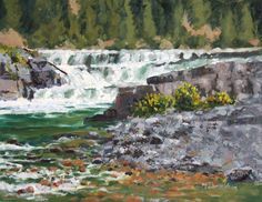 Marnie Donaldson; Oil, Watercolor & Pastel  NVOS 2014 - Studio #3 Calistoga, CA 94515 www.MarnieDonaldson.com www.NapaValleyOpenStudios.org