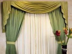 Nuestras Ideas: 13 Originales Tipos de Cortina para Decorar tu Casa Valences For Windows, New Living Room, Window Treatments, Curtains, Pillows, Home Decor, Google, Dreams, Closet