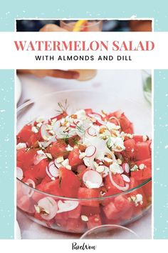 It's ready in 15 minutes flat, and it doesn't skimp on the creamy feta. Healthy Meal Prep, Healthy Salad Recipes, Fruit Recipes, Summer Recipes, Gluten Free Soy Sauce, Gluten Free Recipes, Summer Salads, Summer Food, Warm Salad