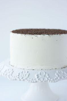 tiramisu cake with espresso syrup & mascarpone filling
