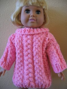 American Girl Doll Clothes Yellow by Love2KnitDollClothes on Etsy, $11.00