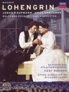Lohengrin (Bayerisches Staatsorchester) (DVD, Set) for sale online Kent Nagano, Jonas Kaufmann, Richard Jones, Michaela, Metropolitan Opera, Ex Machina, Shrink Wrap, Superstar, Cool Things To Buy
