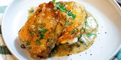 Skillet Chicken Thighs with Luxurious Mustard Pan Sauce