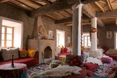 A secluded mountain hamlet in Morocco