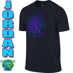 e3e33c65 Nike Air Jordan Men's Large Flight Club Cotton T-Shirt Jumpman 706849 011  Black #