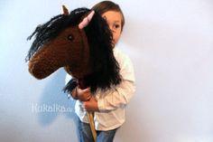 Hobby Horse, Dreadlocks, Horses, Hair Styles, Kids, Freebies, Instructions, Beauty, Lego
