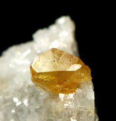 Monazite - Trimouns Talc Mine, Luzenac, Ariège, Midi-Pyrénées, France