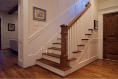 Cape Cod meets Craftsman - Traditional - Staircase - houston - by ...