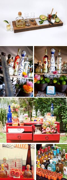 tequila bar! Hello! Now thats my kind of party!!