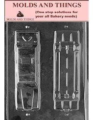 Molds and Things SMALL LIMOUSINE Chocolate candy mold $ 3.89