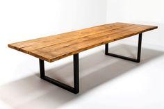 Rustika Spisebord oak clear oil 110x260cm - Rustika oak natural oil