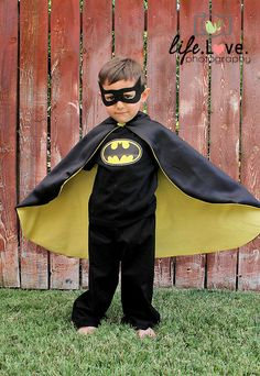 Batman costume. via Etsy.
