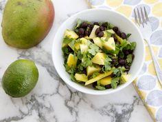 PHASE III: black bean mango salad | Gatheredtable
