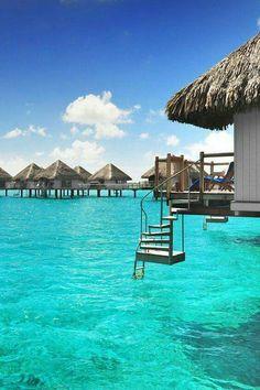 BORA BORA Romántica isla en la Polinesia Francesa!