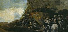 classic-art:  Procession of the Holy Office Francisco Goya
