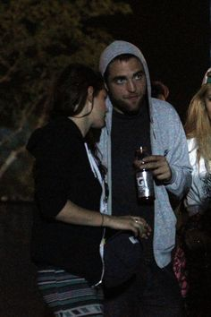 Robert Pattinson and Kristen Stewart were among the many celebrities at Coachella, which also included Kate Bosworth, Leonardo DiCaprio, Alessandra Ambrosio, Kristen And Robert, Robert Pattinson And Kristen, Kristen Stewart, Celebrity Couples, Celebrity News, Coachella Celebrities, Liberty Ross, Coachella 2013, Kate Bosworth
