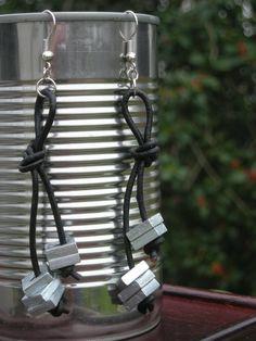 Hardware earrings :)