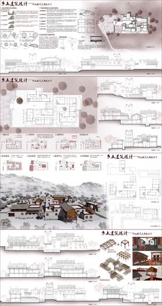 architecture portfolio examples for college Architecture Portfolio Examples, Architecture Life, Architecture Panel, Vernacular Architecture, Architecture Drawings, Concept Architecture, Presentation Techniques, Architecture Presentation Board, Layout