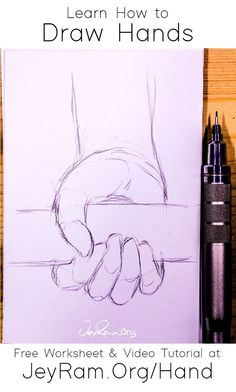 Learn To Draw, How To Draw Hands, Hand Anatomy, Free Hand Drawing, Drawing People, Easy Drawings, Artsy Fartsy, Art Sketches, Art Reference