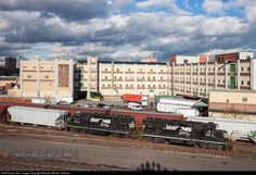 RailPictures.Net Photo: NS 5614 Norfolk Southern EMD GP38-2 at Paterson, New Jersey by Michael William Sullivan