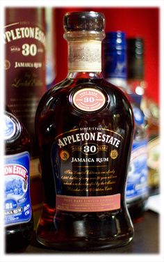 RumFest 2011 - Appleton Estate 30 Year Old Rum. Cocktails, Cocktail Drinks, Alcoholic Drinks, Cigars And Whiskey, Scotch Whiskey, Good Spirits, Wine And Spirits, Liquor Bottles, Drink Bottles