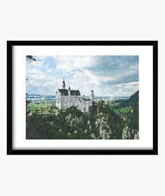 Cuadro Castillo Cuadro con marco horizontal (4:3)  49,00 € - ¡Envío gratis a partir de 3 artículos!