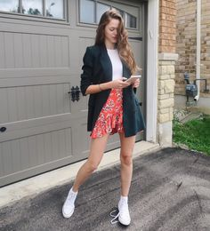 """12.2k Likes, 79 Comments - Valeria Lipovetsky (@valerialipovetsky) on Instagram: """"Mondays feel like a put together outfit with undone shoelaces. #ootd #garageseries"""""""