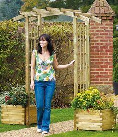 Ryeford Garden Arch | Перголы | Pinterest | Gardens, Arches And Forests