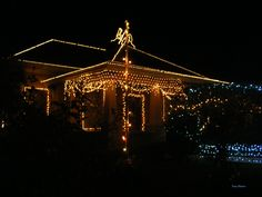 The Magic of Christmas (unretouched, only signed) - This house is located in a street of San Joaquín de Flores, Heredia, Costa Rica. Around of the street, a lot of houses are decorated with beautiful lights. It's really magical!!!